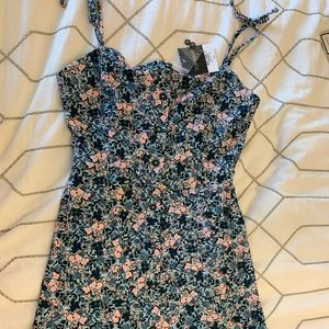 Topshop floral dress size 2